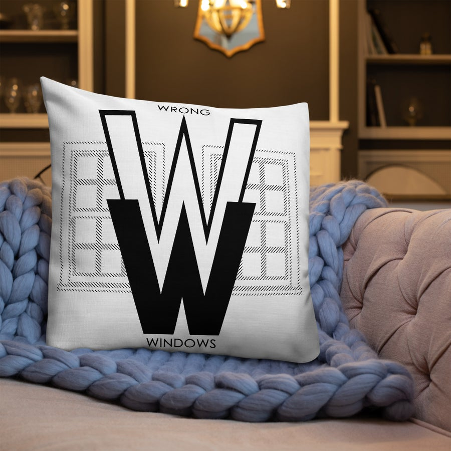 Image of WW Premium Pillow (Logo Variation #2.5)