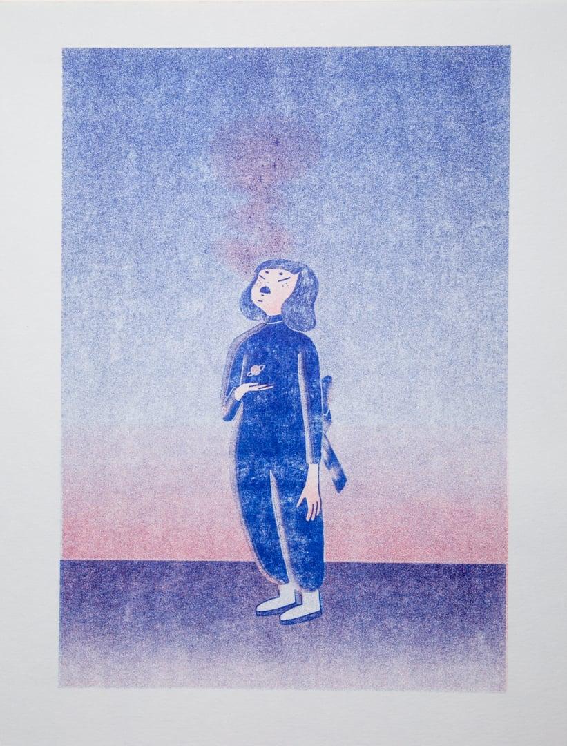 """Image of """"ALLIEN GIRL"""" Liz Dott"""