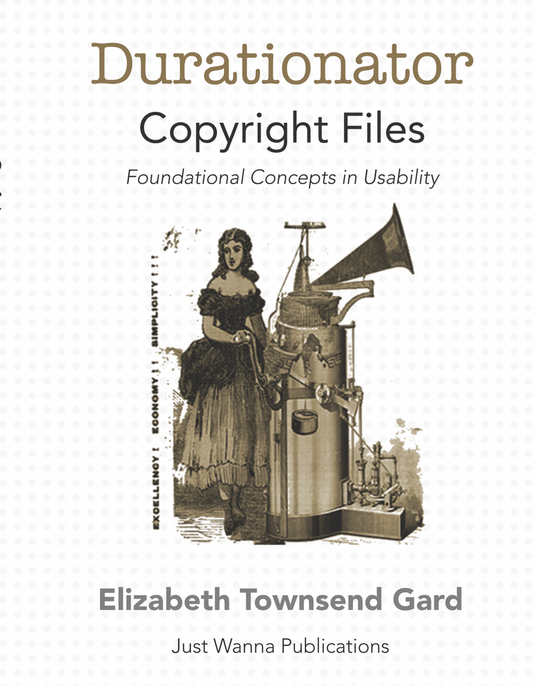 Image of Durationator Copyright Files: Foundational Concepts for Usability