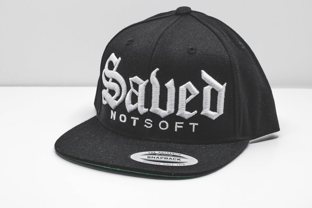 "Image of ""Saved Not Soft OE"" Snapback"