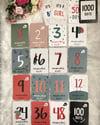 20 Piece Milestone Commemorative Cards Photoprop