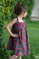 Image 4 of Robe liberty ciara fuschia et smocks