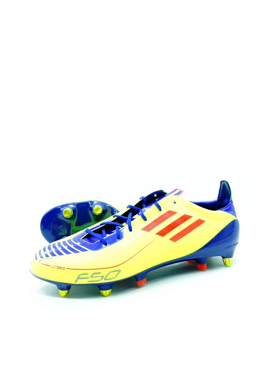 Image of Adidas F50 adizero Yellow Purple SG