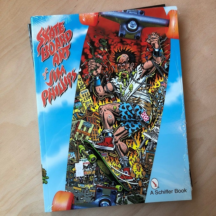 Image of Jim Phillips, the Skateboard Arty of - Book