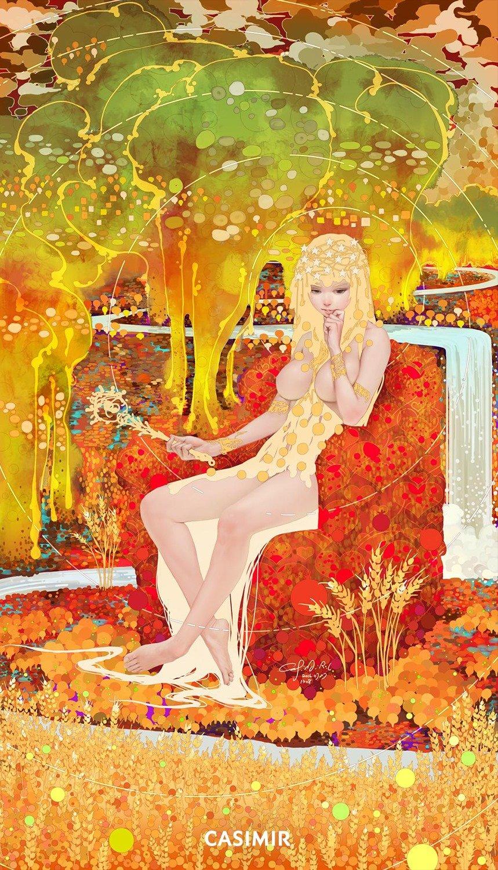 Tarot Series - Limited Print  3.The Empress / 皇后 塔羅牌系列 限量版畫