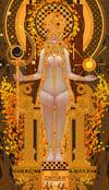 Tarot Series - Limited Print  4.The Emperor / 皇帝 塔羅牌系列 限量版畫