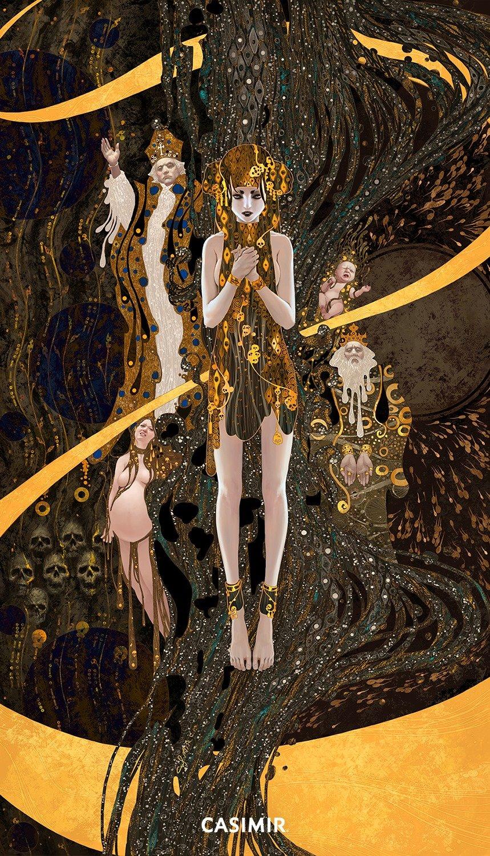 Tarot Series - Limited Print  13.The Death / 死亡 塔羅牌系列 限量版畫