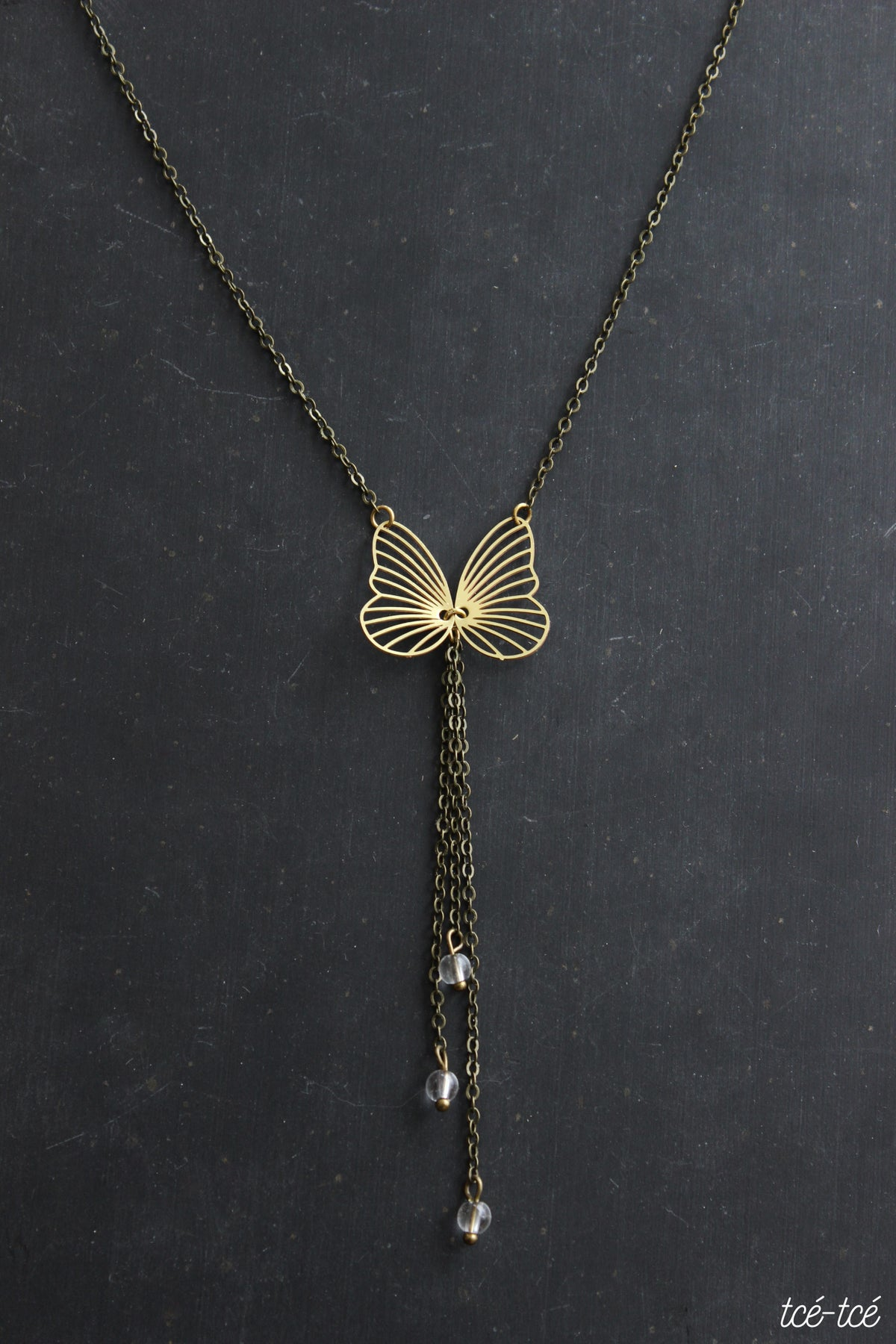 "Image of Collier ""Papillon"""
