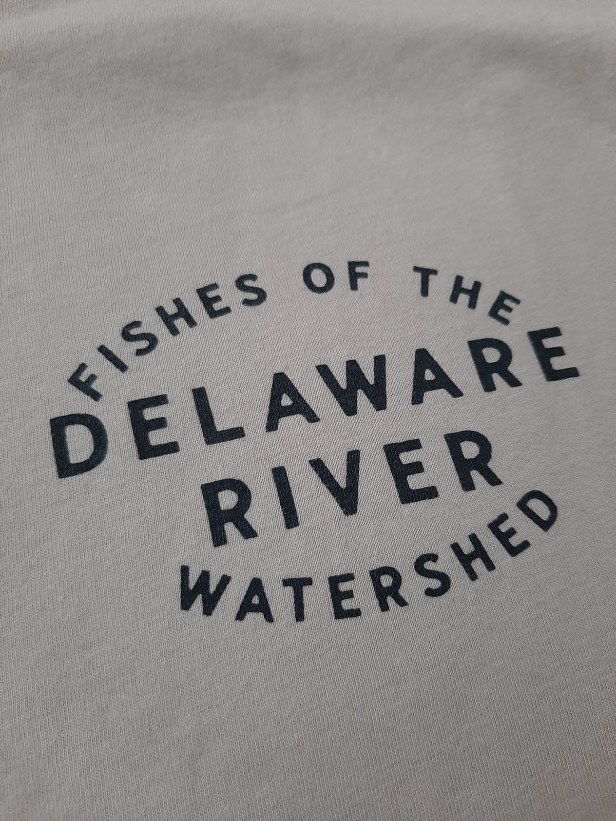 Image of Fishes of the Delaware t-shirt
