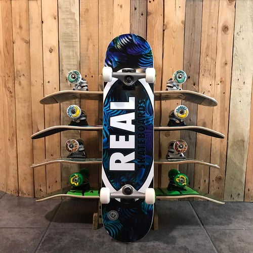 Image of Real Tropic Oval Complete Skateboard