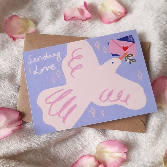 Image of Sending Love Card