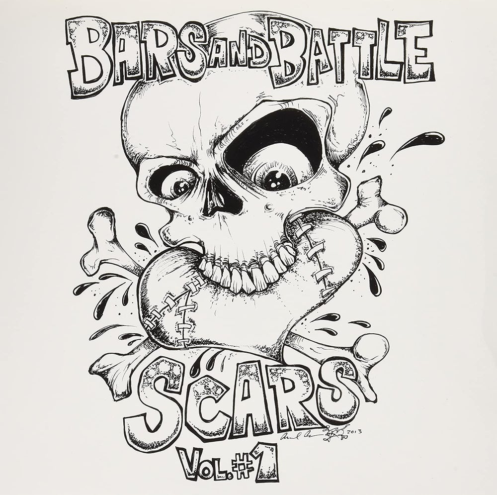 """V/A - Bars and Battle Scars Volume One- 12"""" Comp"""