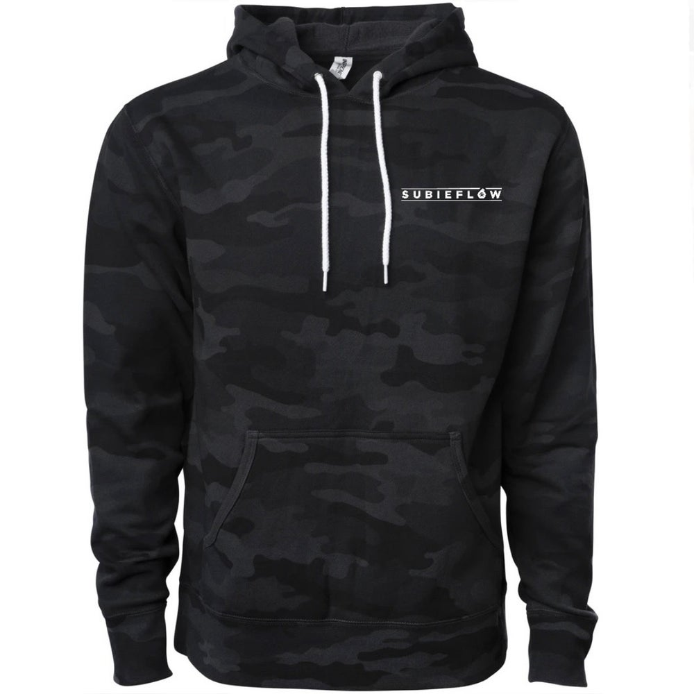 Image of SubieFlow BLK Camo Hoodie