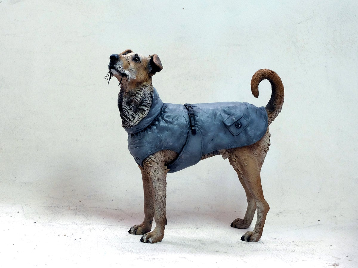 Image of Realistic pet figure sculpted by hand from reference pics