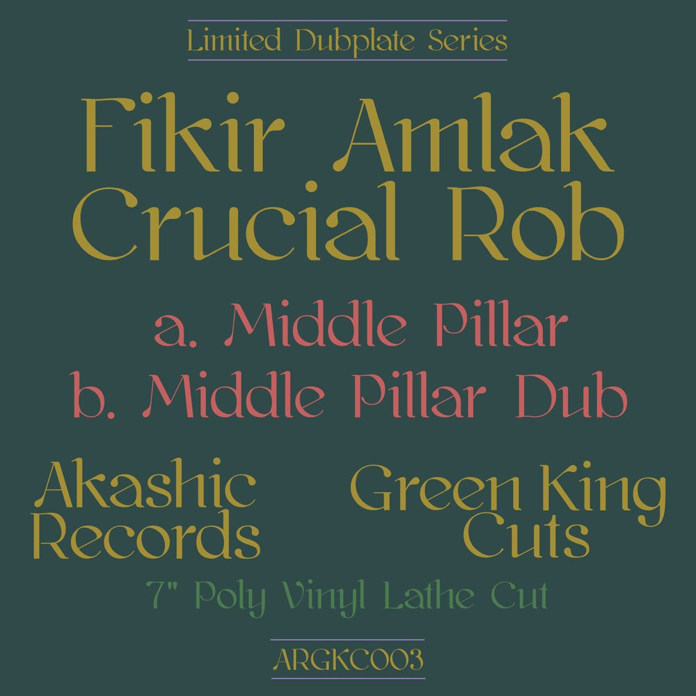 CRUCIAL ROB FT FIKIR AMLAK - DUE TO POPULAR DEMAND / LIMITED COPIES ADDED ONLY FOR 24HR