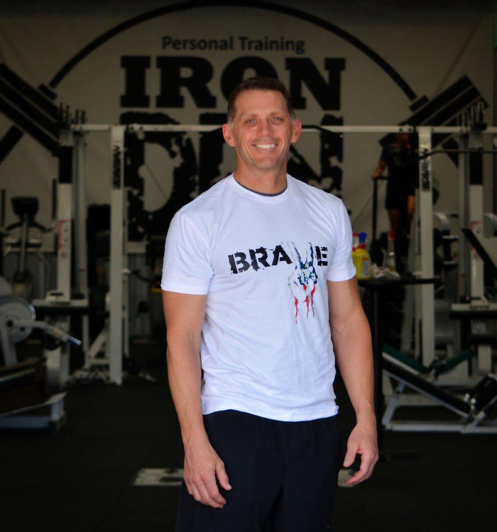 Brave Shirt Mens- White