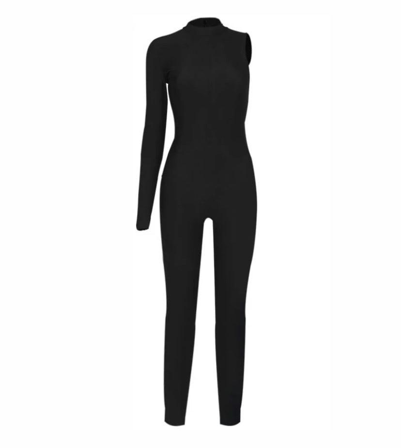Image of One Shoulder | Jumpsuit