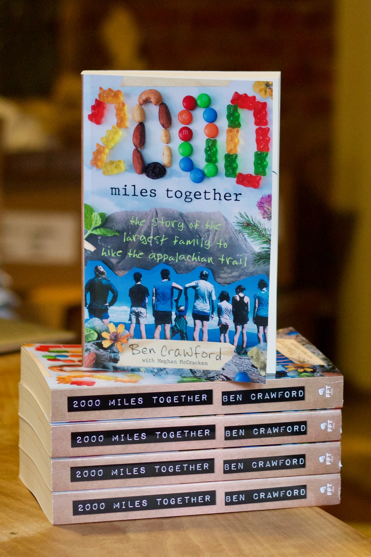 Image of 2000 Miles Together Paperback Wholesale