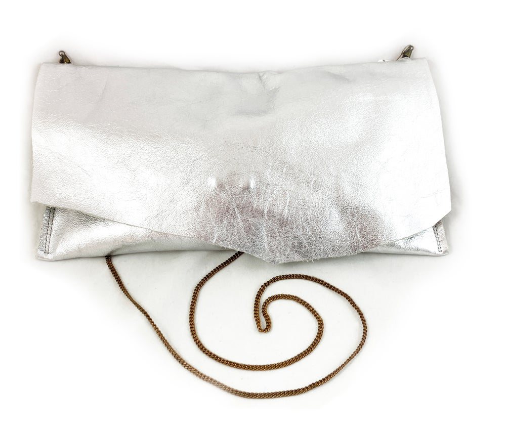 Image of vintaige chain pouch (silver)