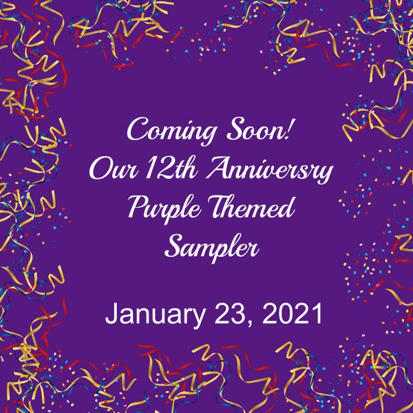 Image of January 2021 Phat Anniversary Purple Sampler