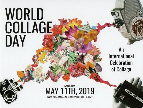 Image of World Collage Day 2019 Postcard Set