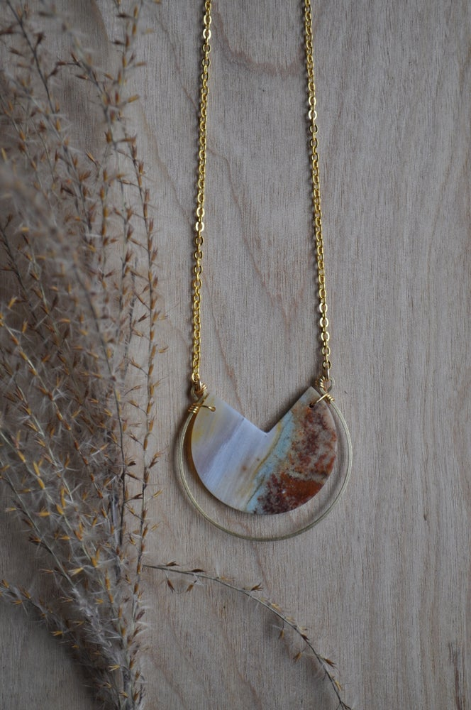 Image of One of a Kind Jasper Necklace (#J2)