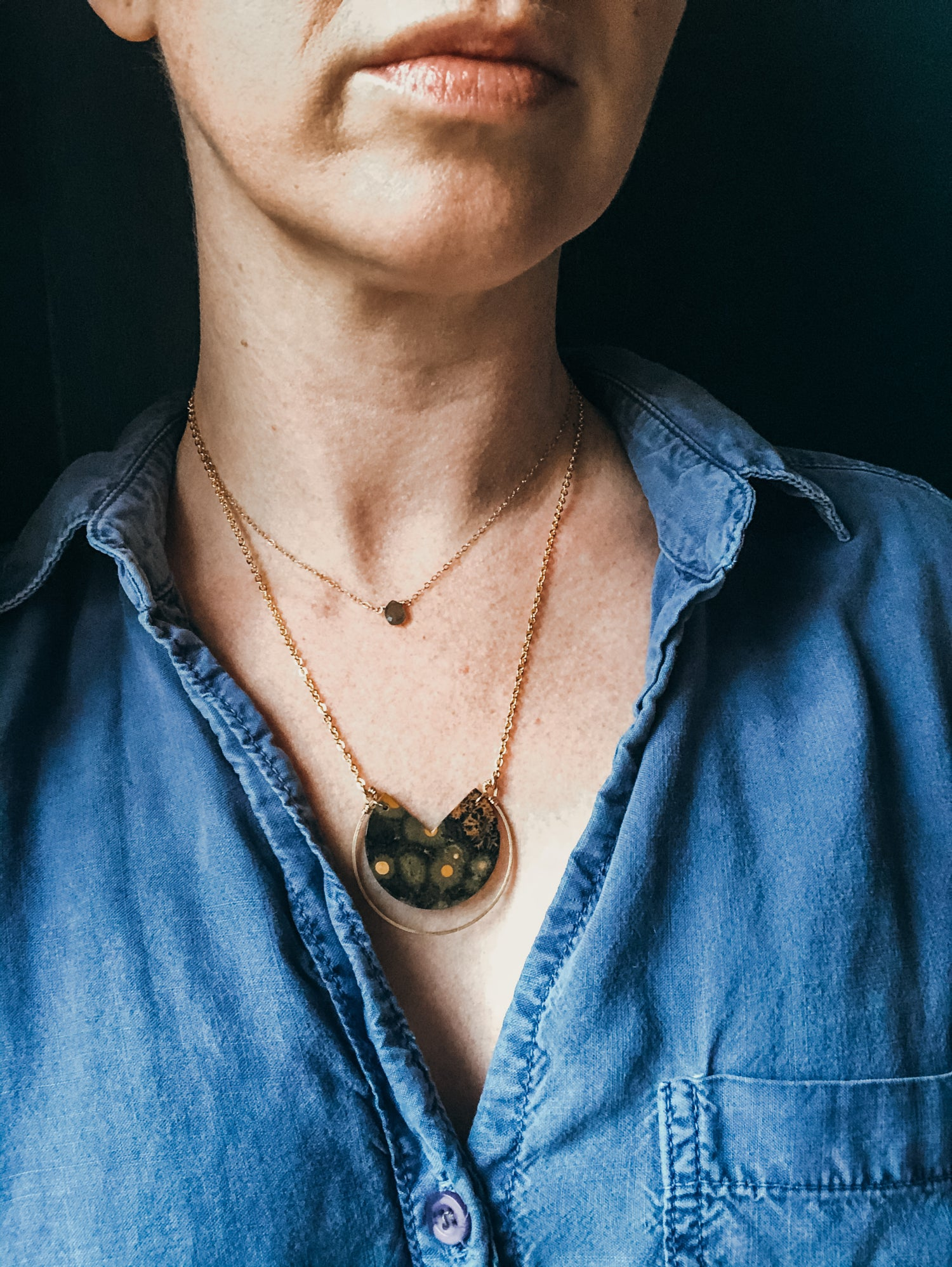 Image of One of a Kind Jasper Necklace