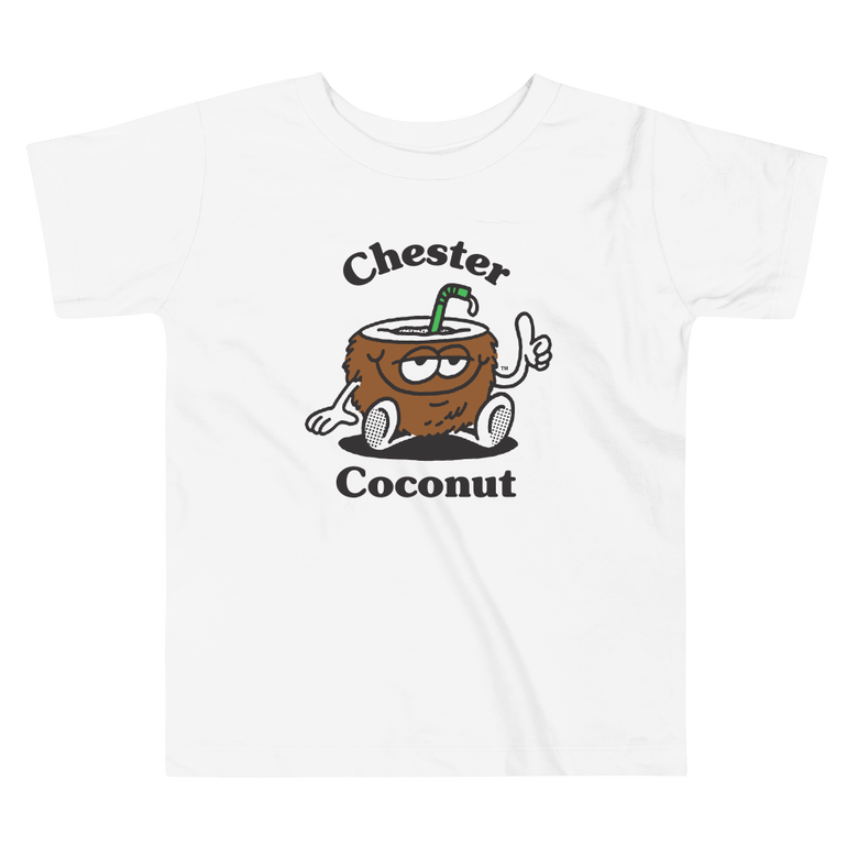 Image of Chester Coconut Toddler Tee