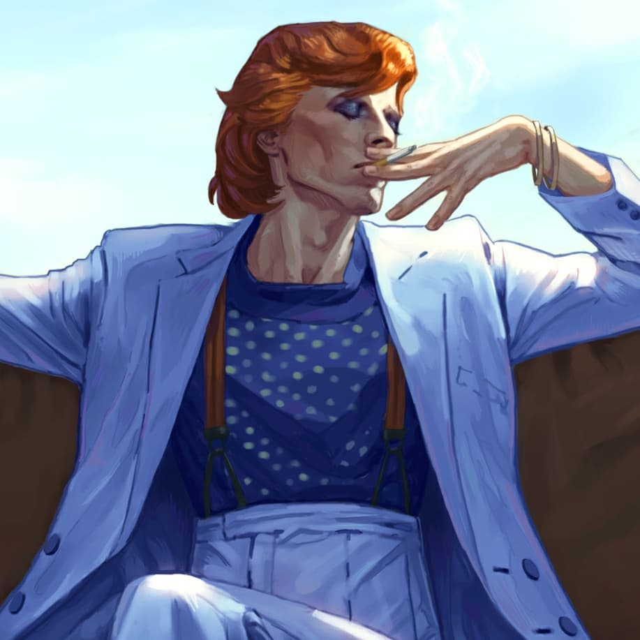 'Beware of The Diamond Dogs' by Eftristesse
