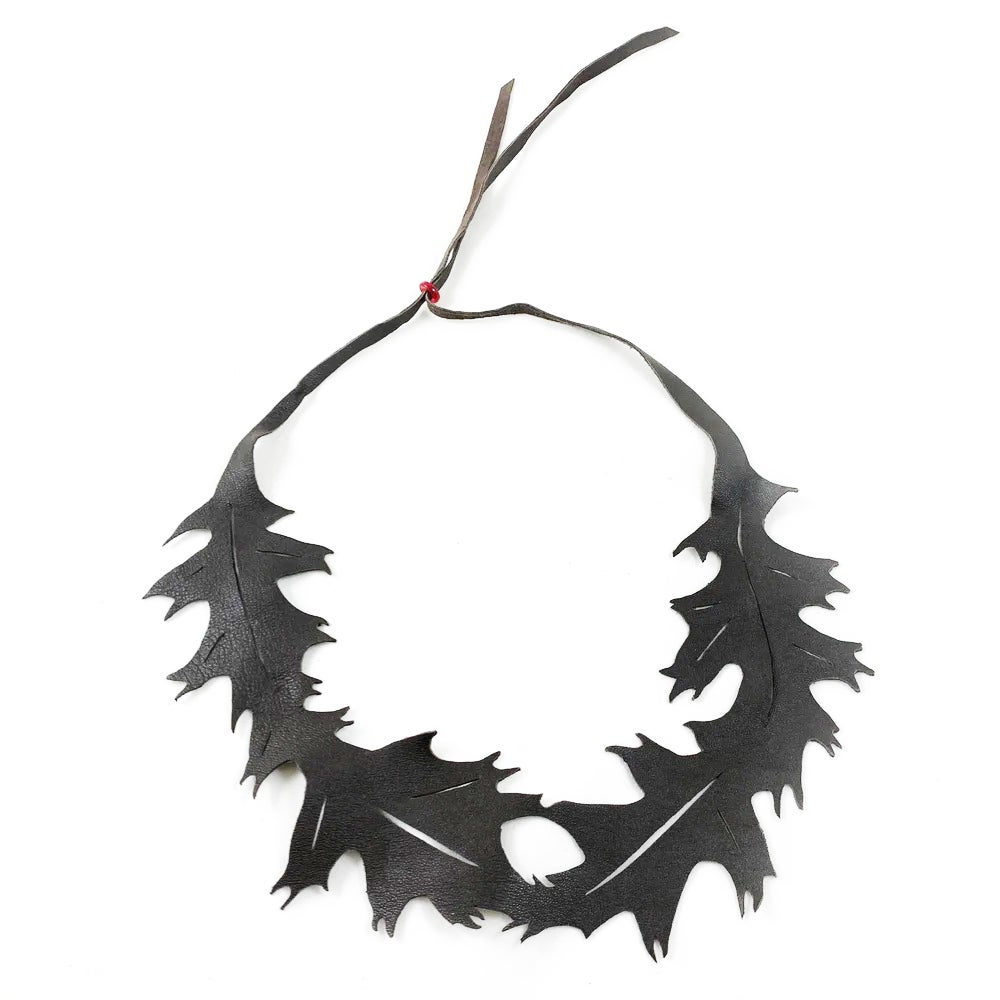 Image of Florence & Leah recycled leather (oak leaf)
