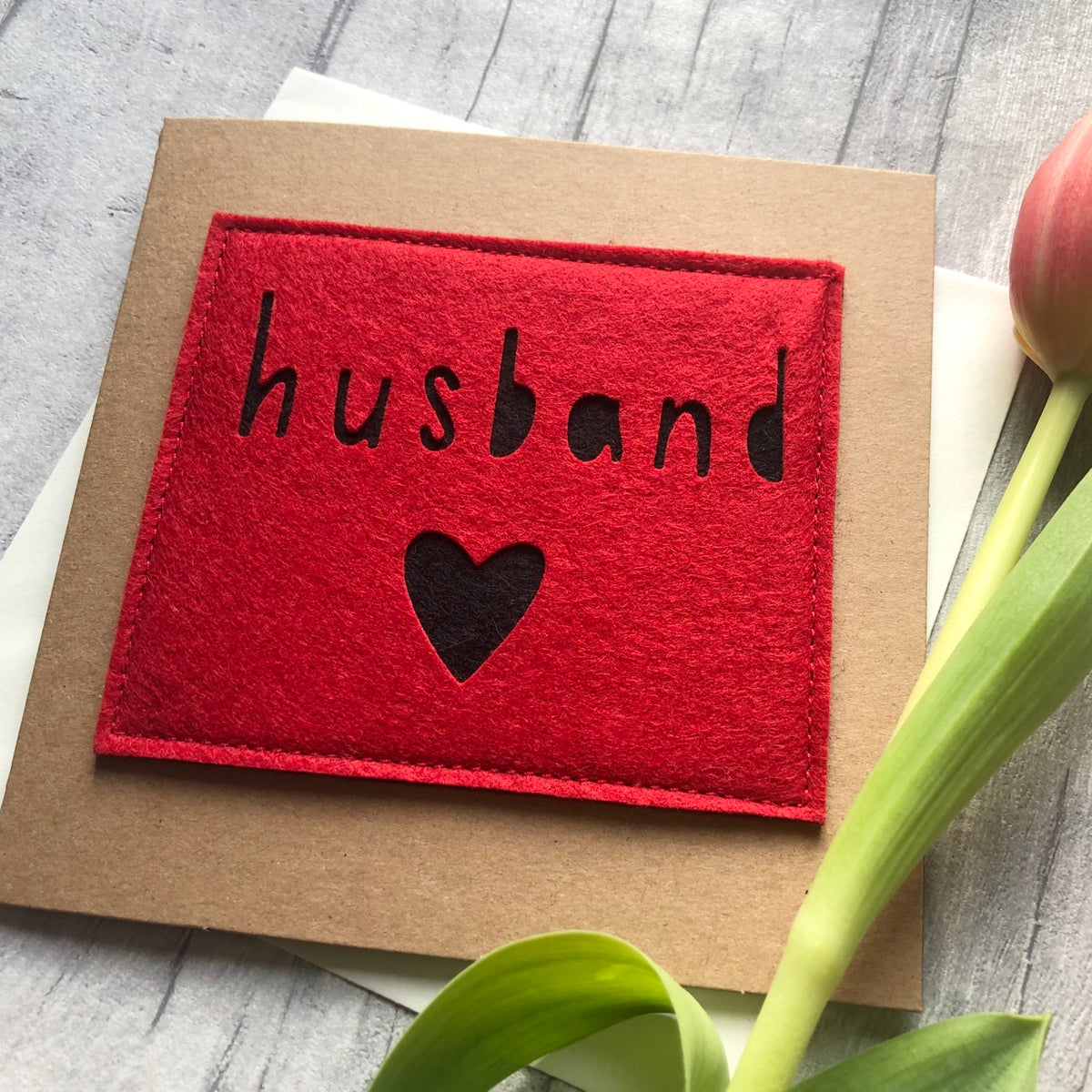 Image of Husband valentine's Day Card