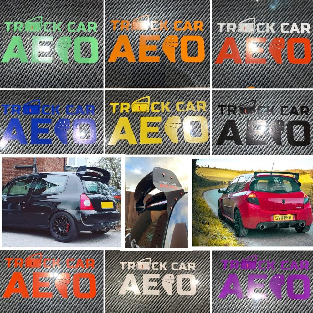 Image of Track Car Aero Stickers