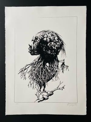Image of Sans titre (oiseau monochrome)