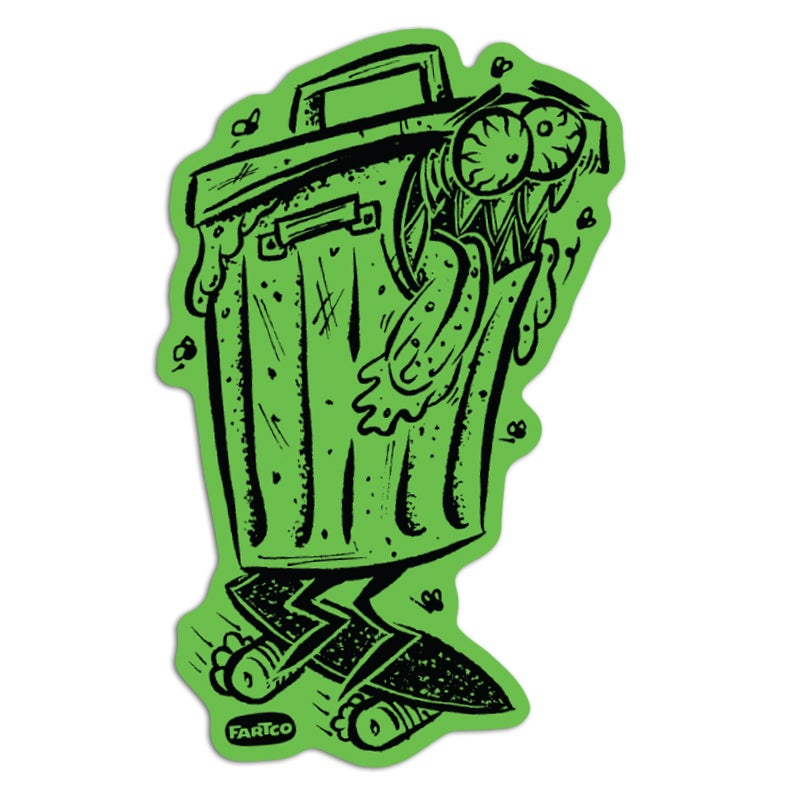 Image of Trash Sticker