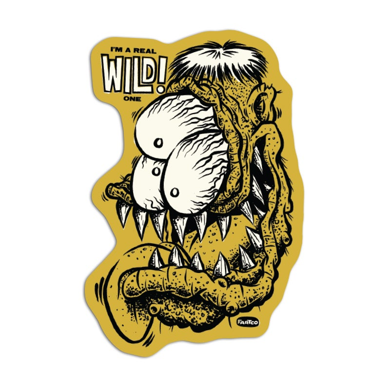 Image of Wild One Sticker