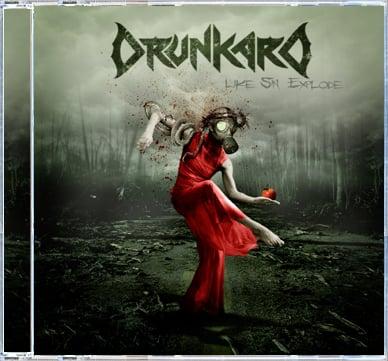 Image of DRUNKARD - Like Sin Explode CD