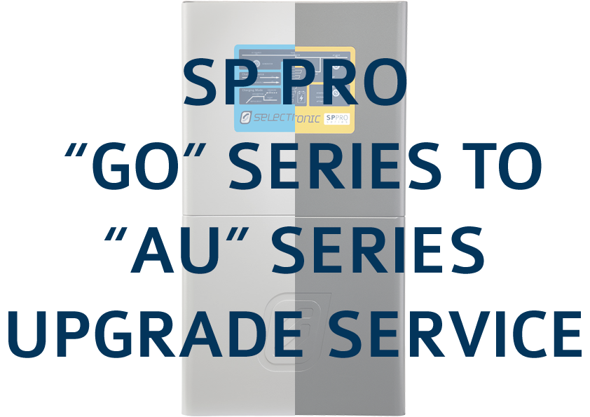 """Image of SP PRO """"GO"""" Series to """"AU"""" Series Product Upgrade Service"""