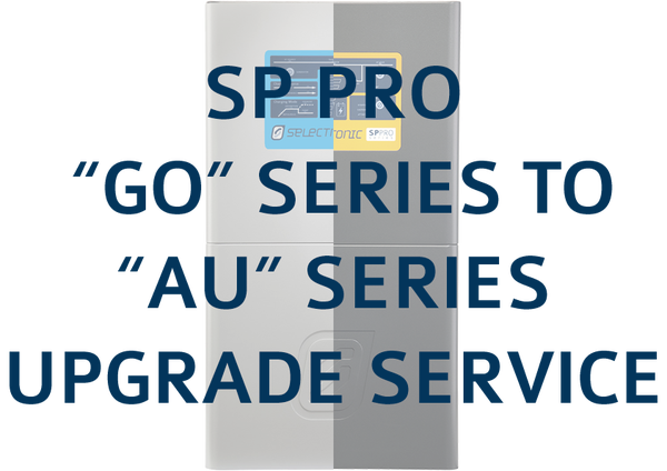 "Image of SP PRO ""GO"" Series to ""AU"" Series Product Upgrade Service"
