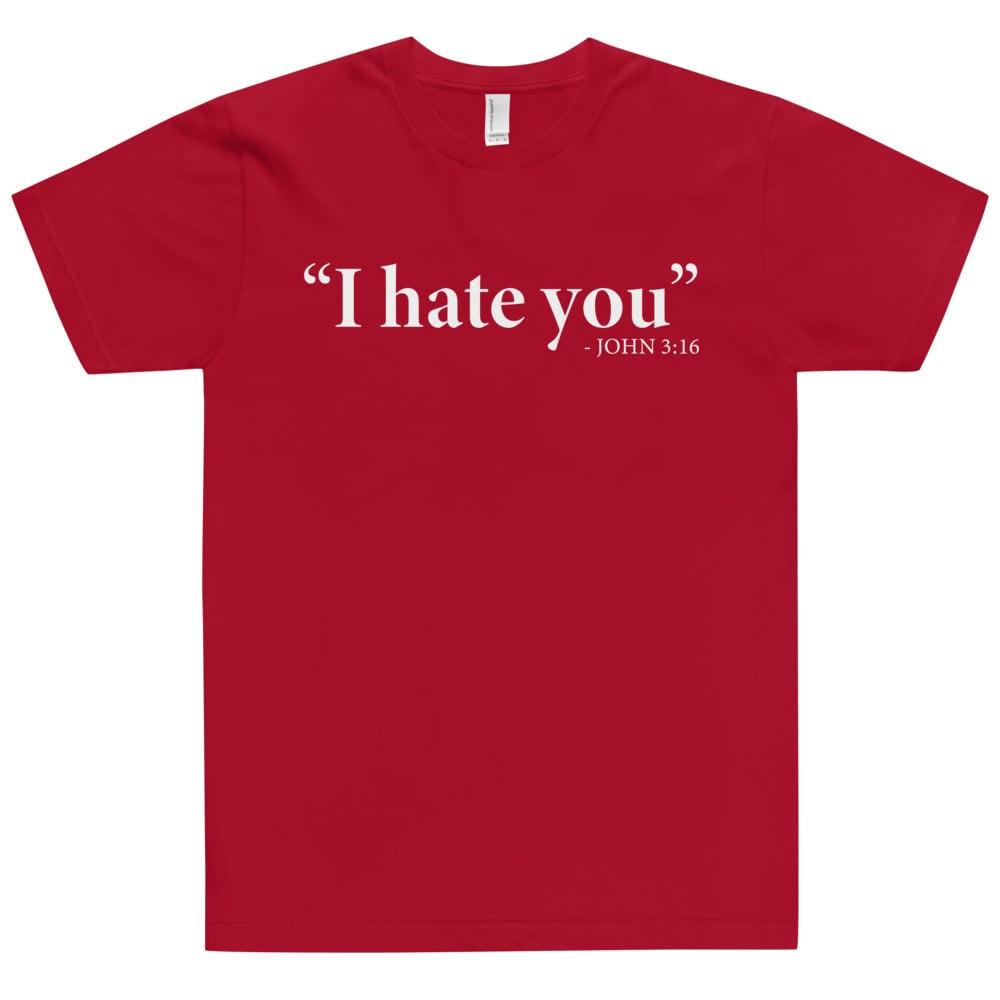 John 3:16 color T-Shirt