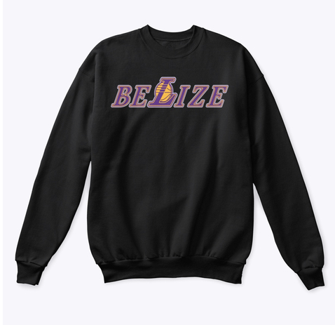 Image of BELIZE LAKERS FAN HOODIE | CREWNECK