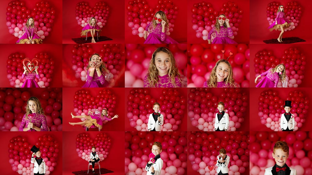 Image of My Heart Beats for You | 2021 Petite Valentine Sessions