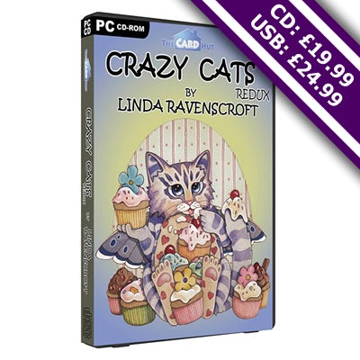 Image of Crazy Cats Redux by Linda Ravenscroft