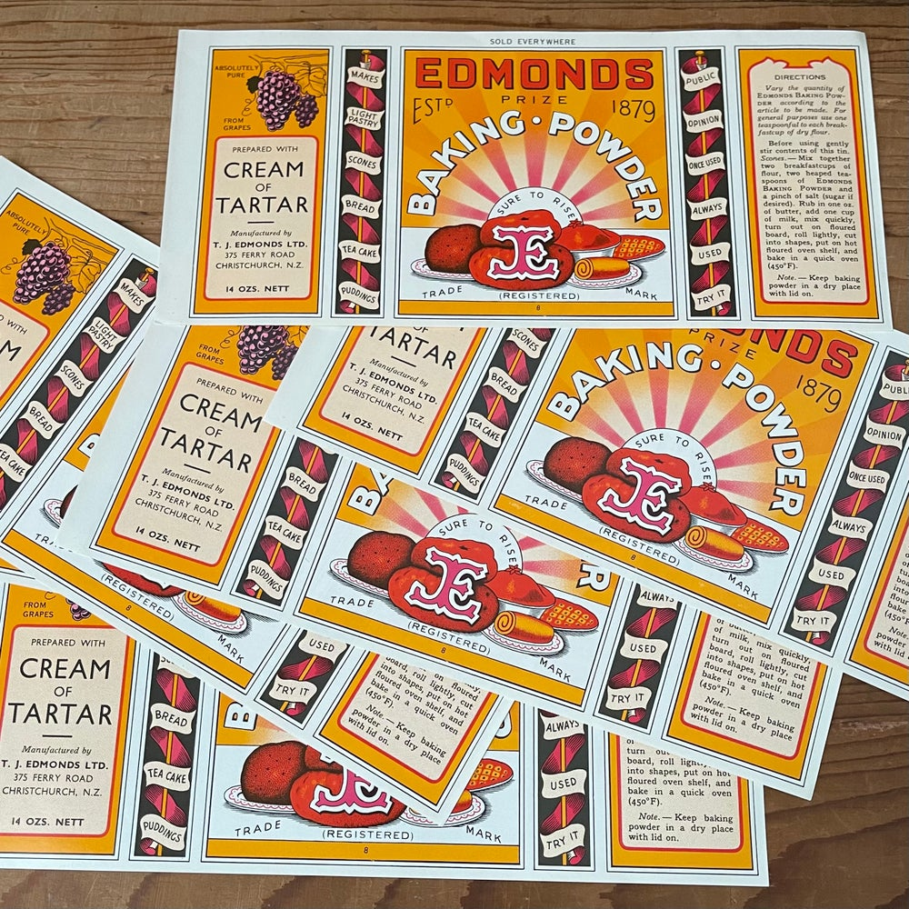 Image of Edmond's Labels (set of 6)