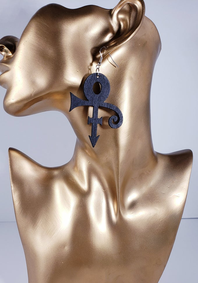 Image of Prince Symbol Earrings