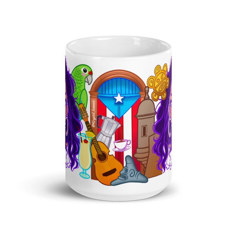 Image of Puerto Rico Mug (15 oz)