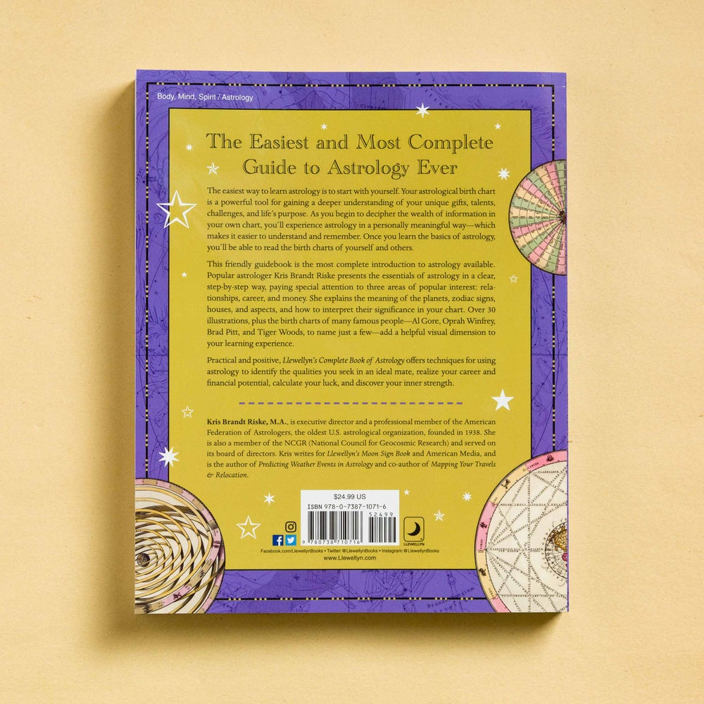 Image of Llewellyn's Complete Book of Astrology: The Easy Way to Learn Astrology