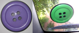 Image of Button tax disk holder