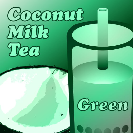 Image of Coconut Milk Tea - Green