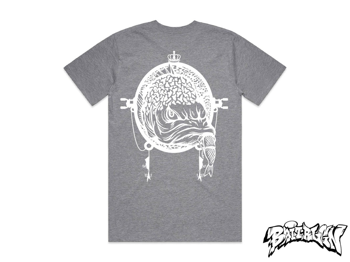 Image of GREY T SHIRT - GRUMPY COLLECTION 2020