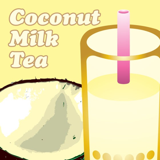 Image of Coconut Milk Tea - Regular